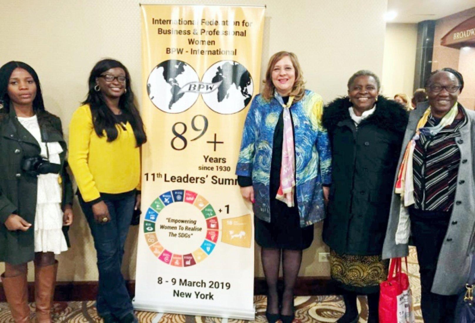 BPW Nigeria members at BPW International Leadership Summit 2019