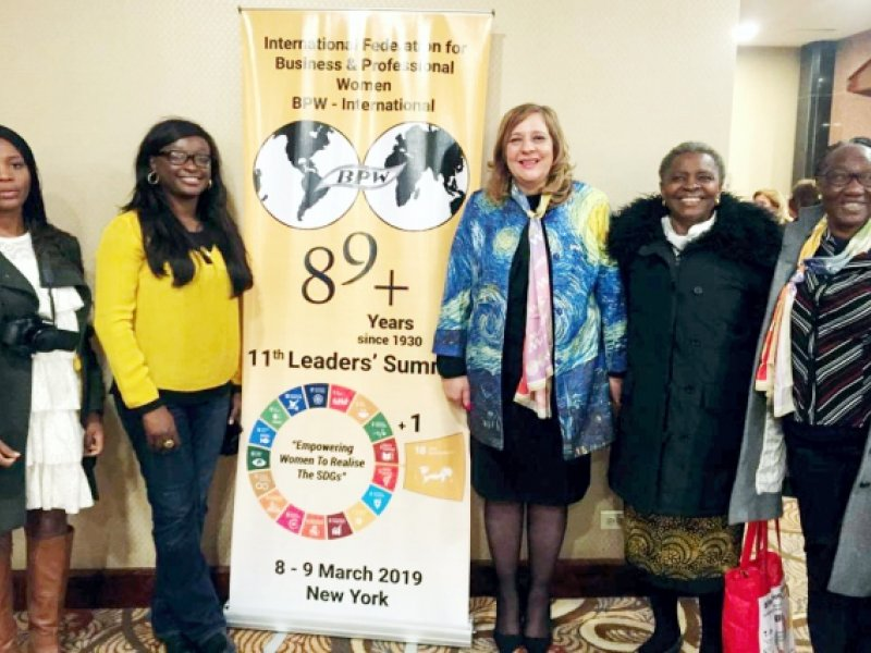 BPW Nigeria members at BPW International Leadership Summit 2019