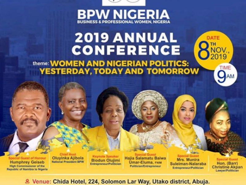BPW Nigeria Annual National Convention Abuja